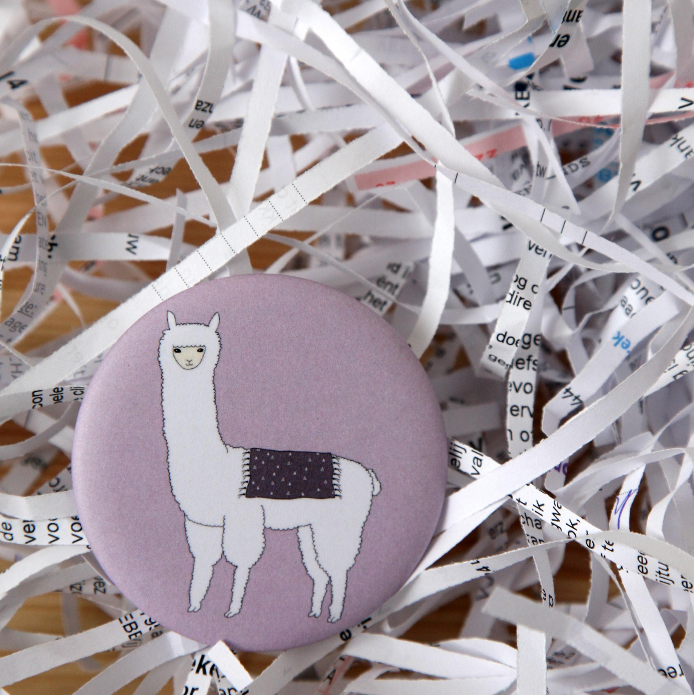 """badge """"lama"""""""