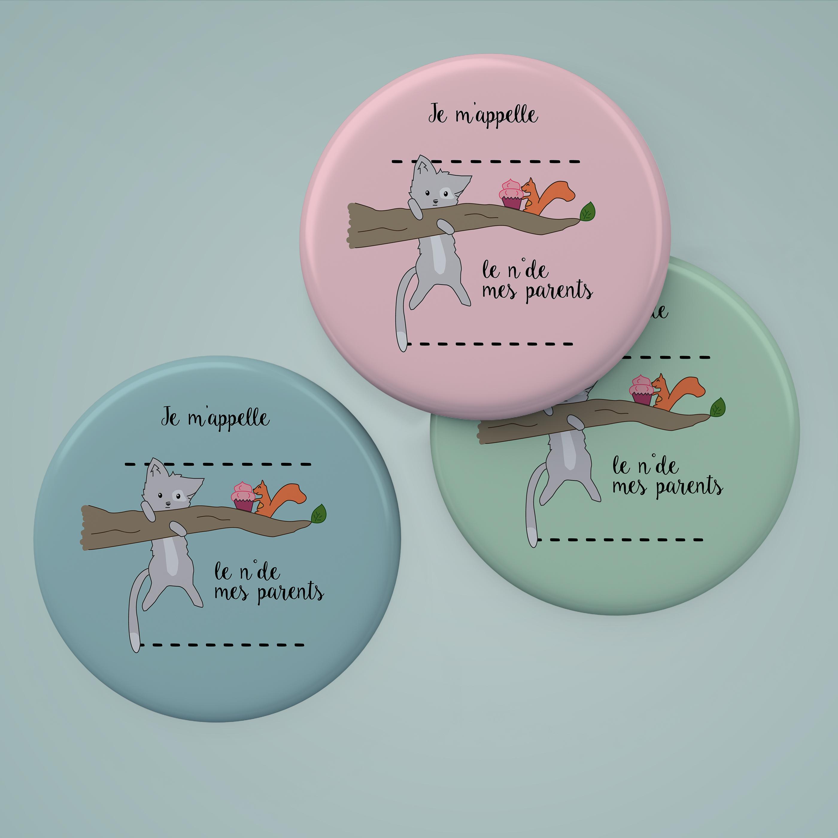"""badge """"explorateur"""" #chat perché"""