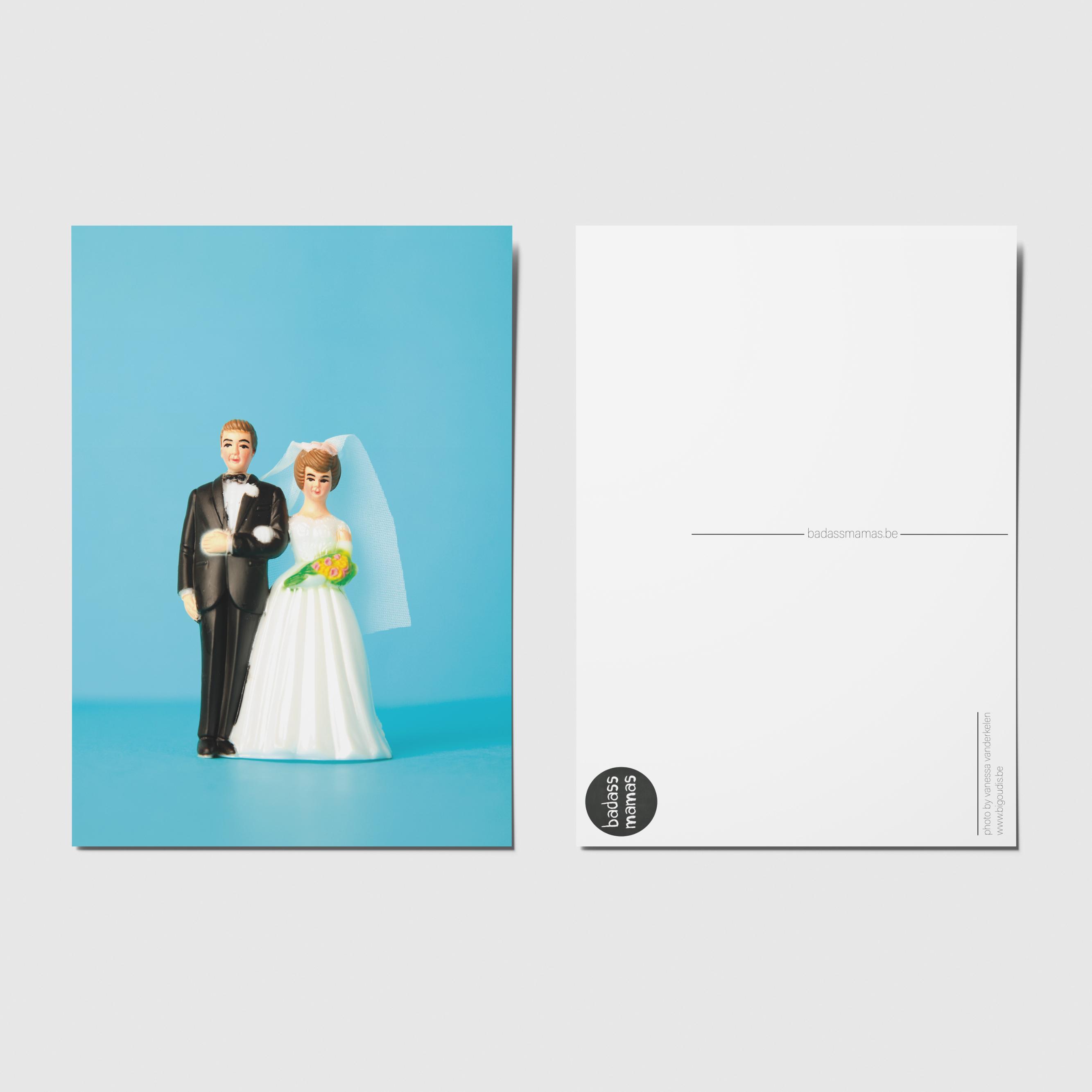 carte postale mariage #02