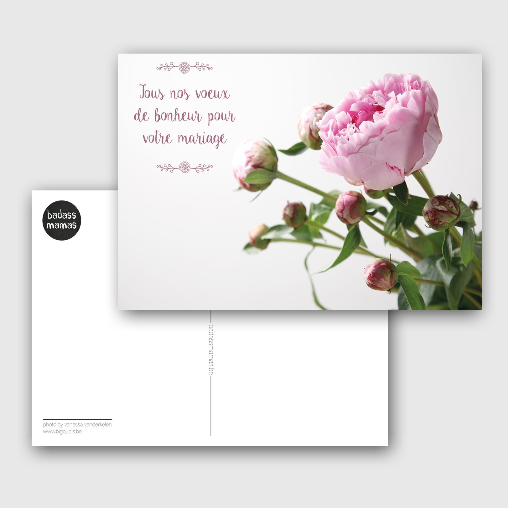 carte postale mariage #03