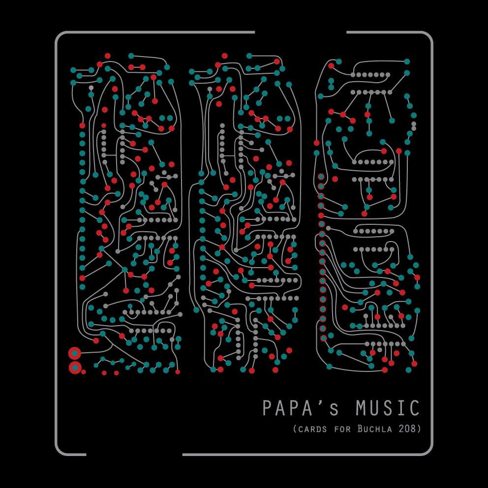 "tee shirt ""papa's music"""