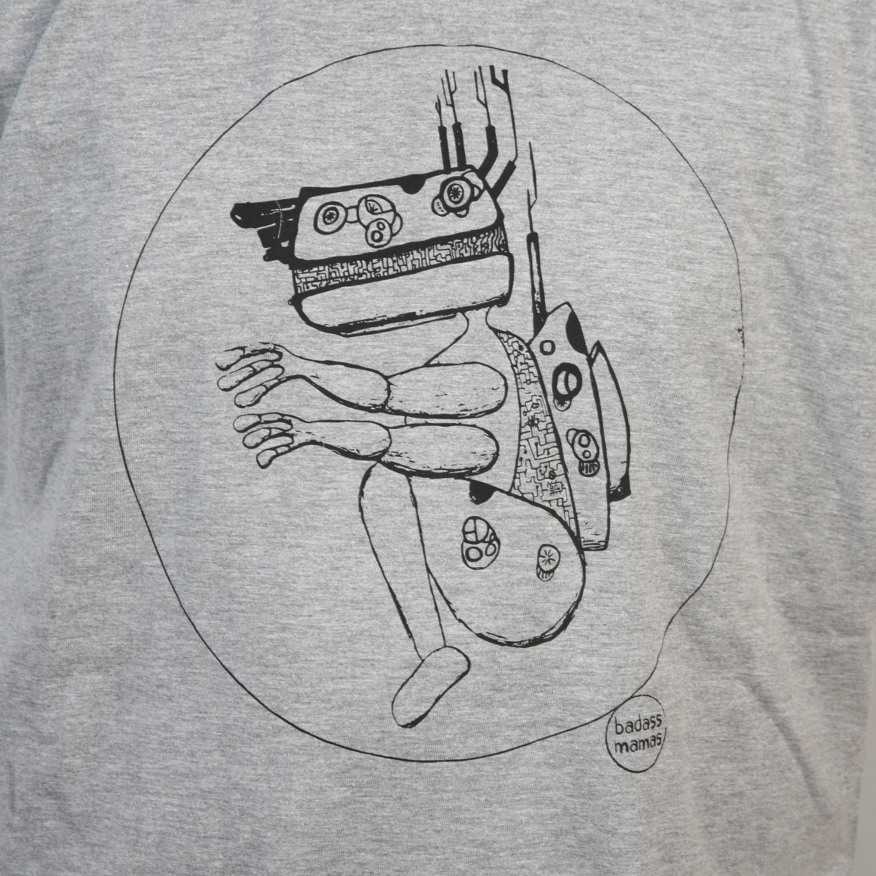 """tee shirt """"robot #2"""""""